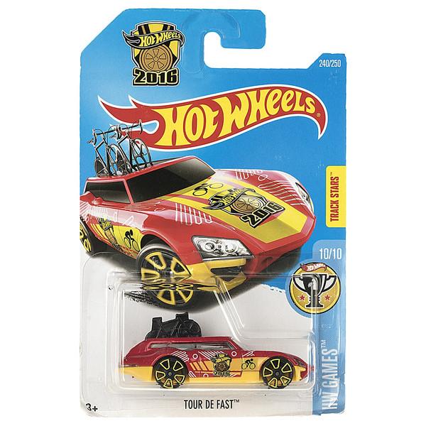 ماشین بازی متل سری هات ویلز مدل Tour De Fast