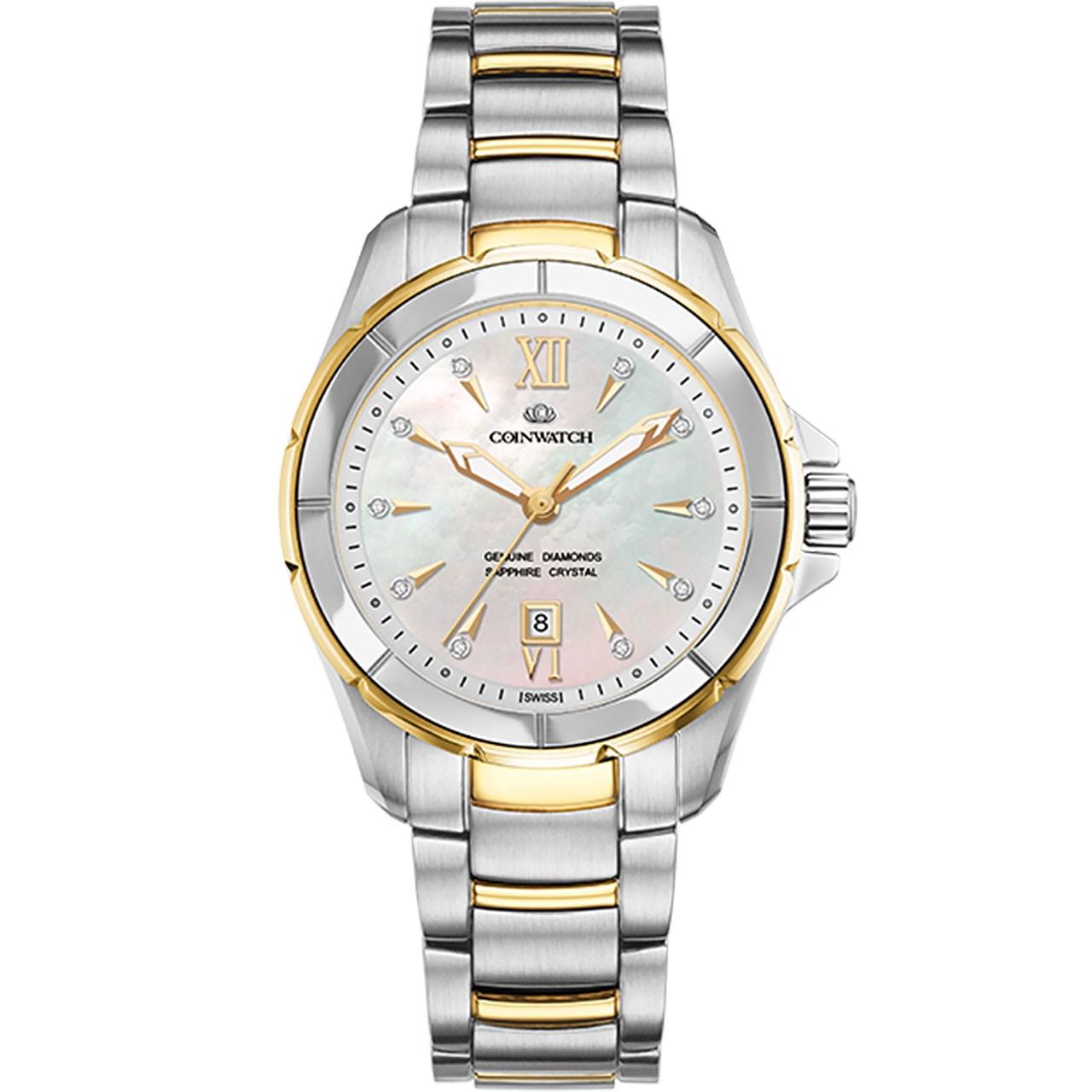 ساعت مچی عقربه ای زنانه کوین واچ مدل C160TWH