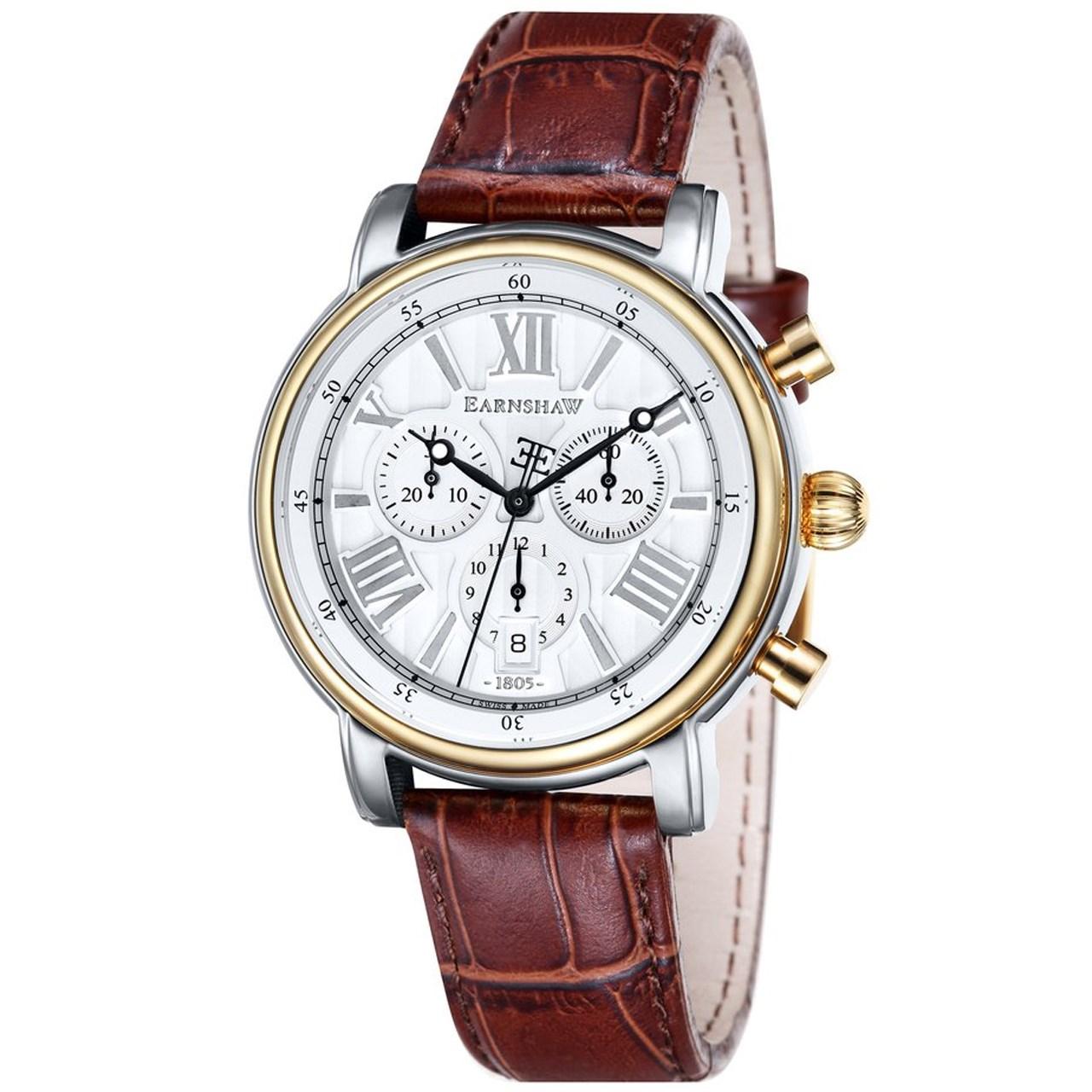 ساعت مچی عقربه ای مردانه ارنشا مدل ES-0016-05 12