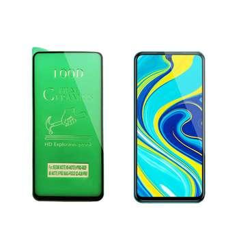 محافظ صفحه نمایش سرامیکی مدل FLCRG01pr مناسب برای گوشی موبایل شیائومی Redmi Note 9s