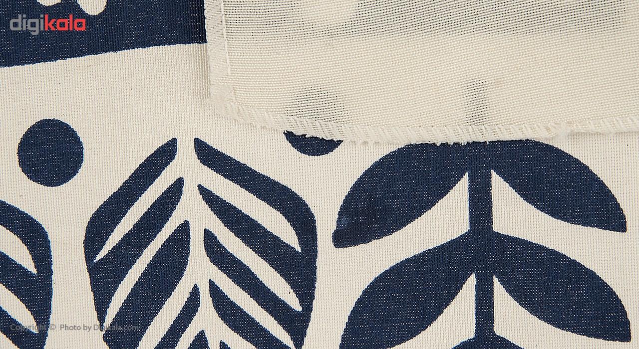 کادوپیچ پارچهای گوشه طرح پرنده صلح
