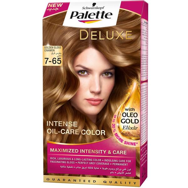 کیت رنگ مو پلت سری Deluxe مدل Golden Gloss Mocca شماره 65-7