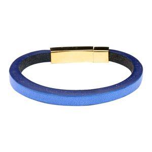 دستبند چرمی  آتیس کد I700BLUE