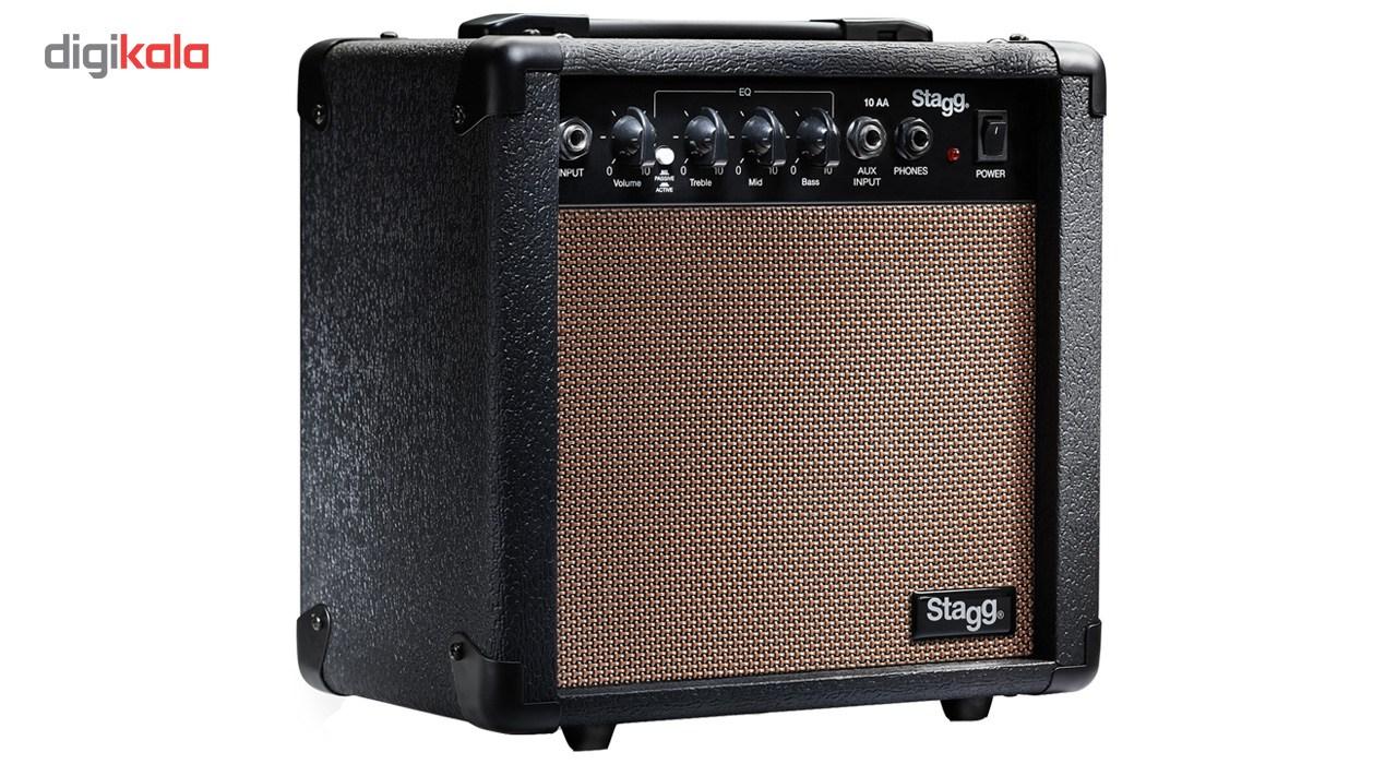 قیمت                      آمپلی فایر گیتار آکوستیک استگ مدل 10 AA              ⭐️⭐️⭐️