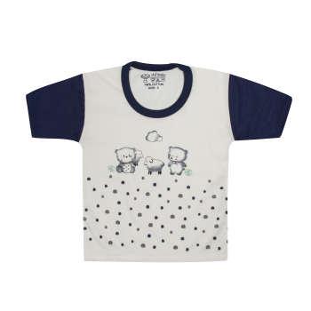 تی شرت آستین کوتاه نوزادی مدل 988830NA
