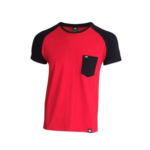 تی شرت مردانه 1991 اس دبلیو مدل Reglan Redblack