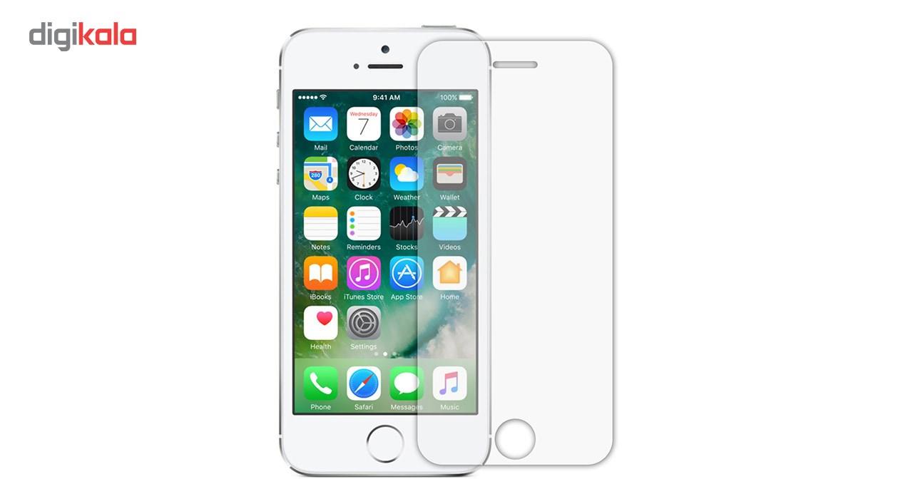 محافظ صفحه نمایش شیشه ای تمپرد مناسب برای گوشی موبایل اپل iPhone 5/5S/SE main 1 1