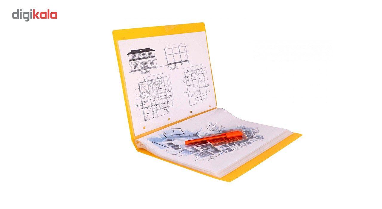 کلیر بوک 40 برگ پاپکو کد A4-40 main 1 15