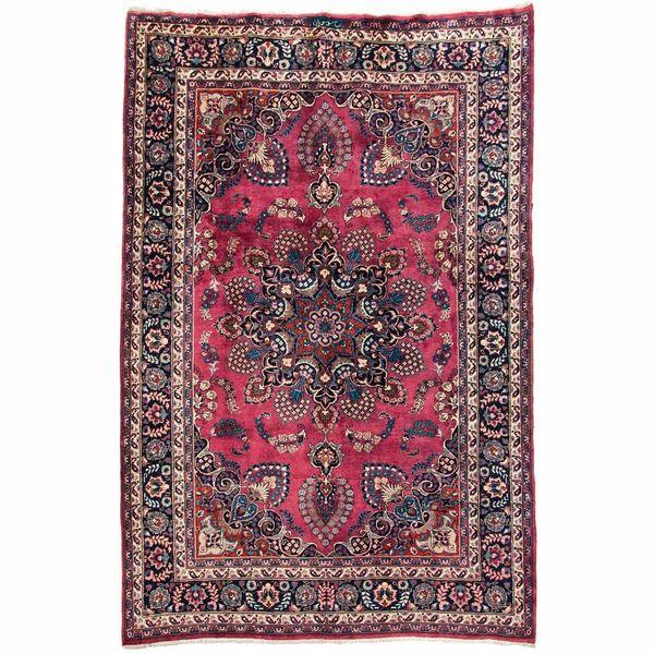 فرش دستبافت قدیمی شش متری سی پرشیا کد 101917