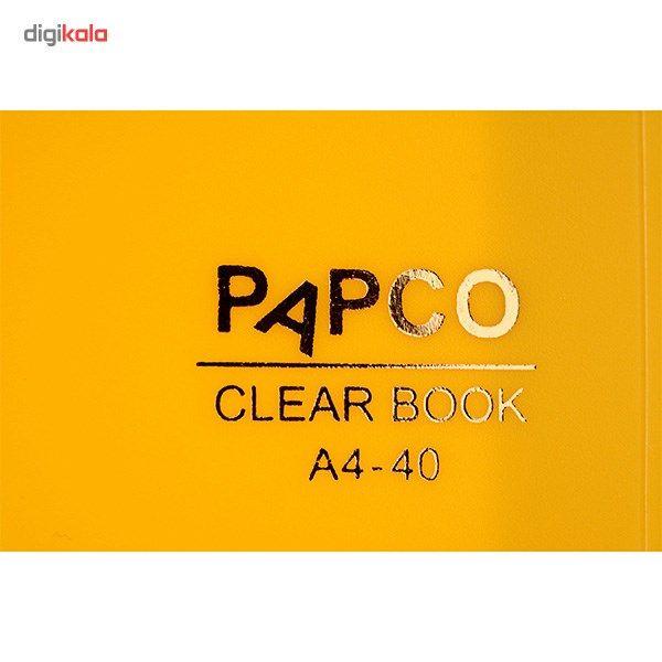 کلیر بوک 40 برگ پاپکو کد A4-40 main 1 17