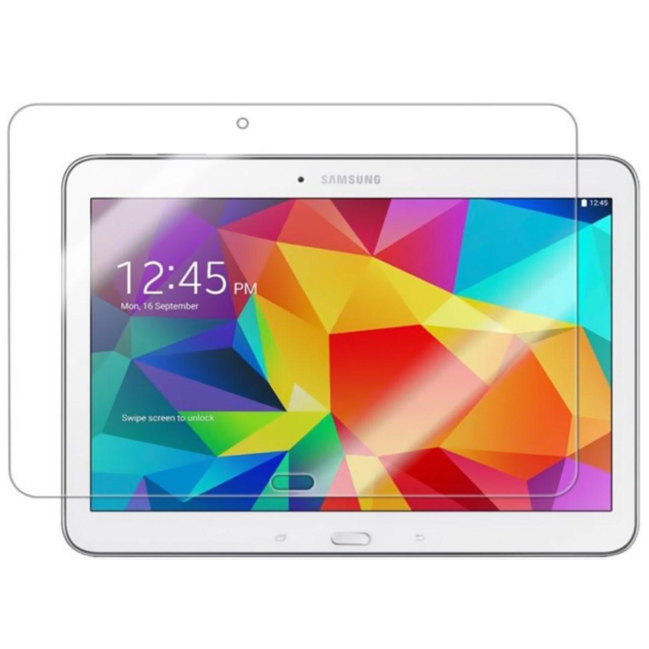 محافظ صفحه نمایش شیشه ای تمپرد مناسب برای تبلت سامسونگ Galaxy Tab 4 10.1