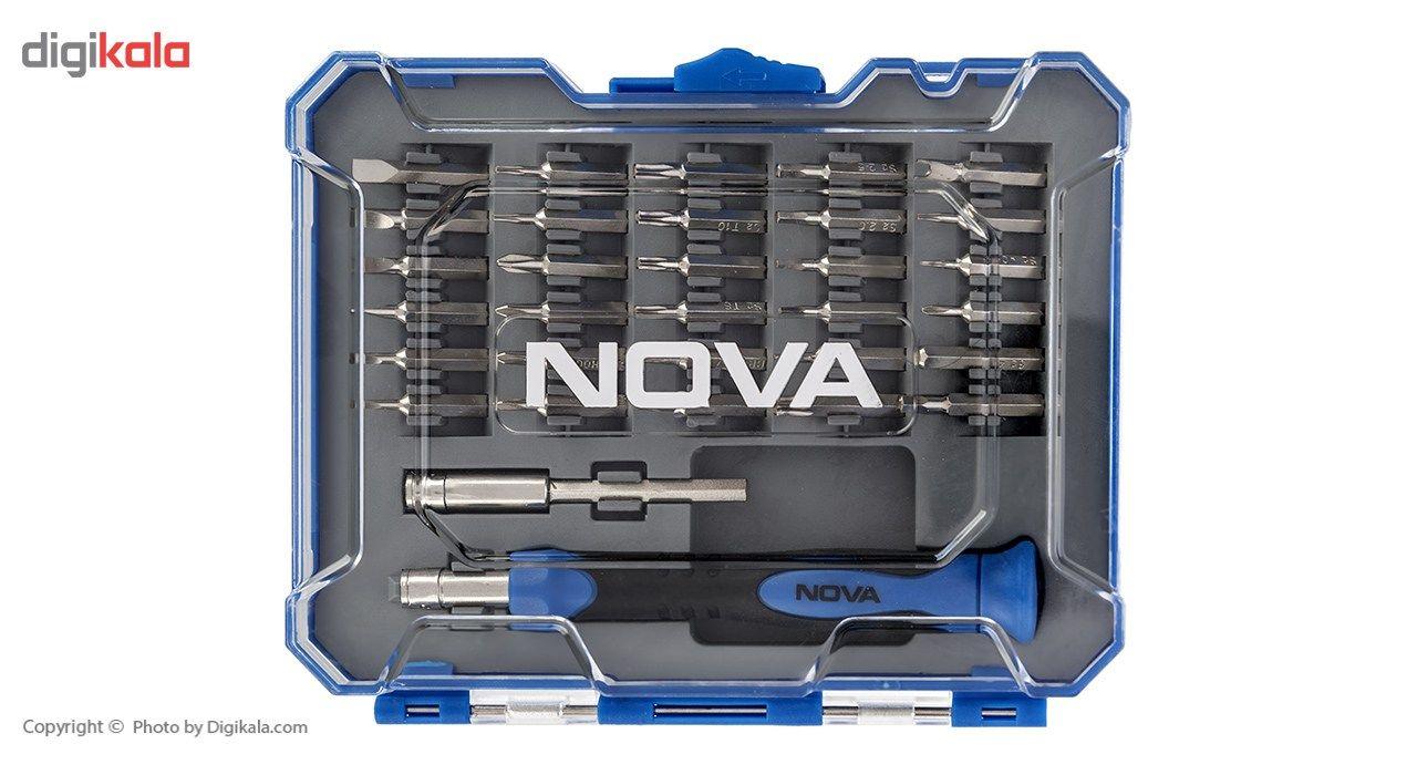 مجموعه 32 عددی سری پیچ گوشتی نووا مدل NTS 1328 main 1 2