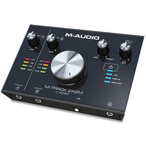 کارت صدای استودیو ام-آدیو مدل M-Track 2x2m