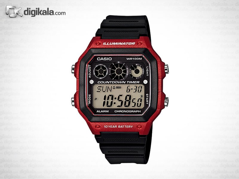 ساعت مچی دیجیتالی کاسیو AE-1300WH-4AVDF