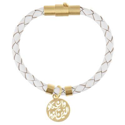 تصویر دستبند کودکانه طلا 18 عیار رزا مدل BW102