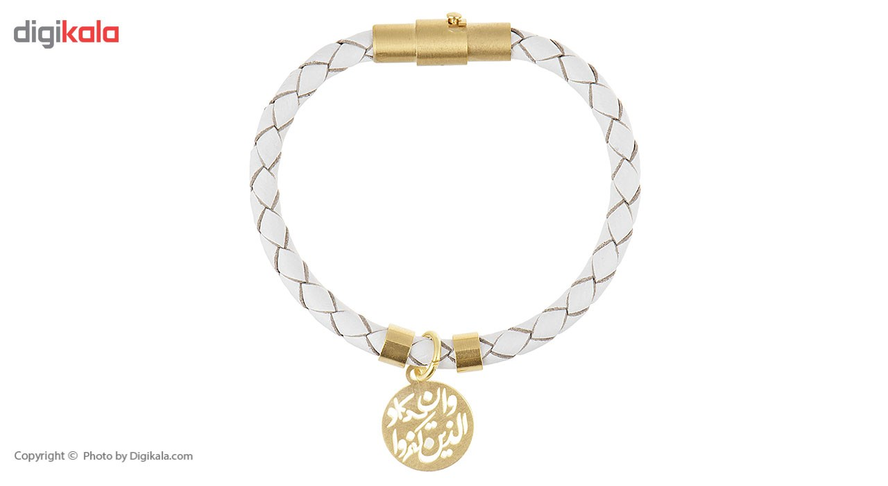 دستبند کودکانه طلا 18 عیار رزا مدل BW102