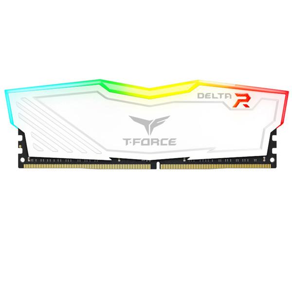 رم دسکتاپ DDR4 تک کاناله 2400 مگاهرتز CL15 تیم گروپ مدل T-Force Delta RGB ظرفیت 16 گیگابایت