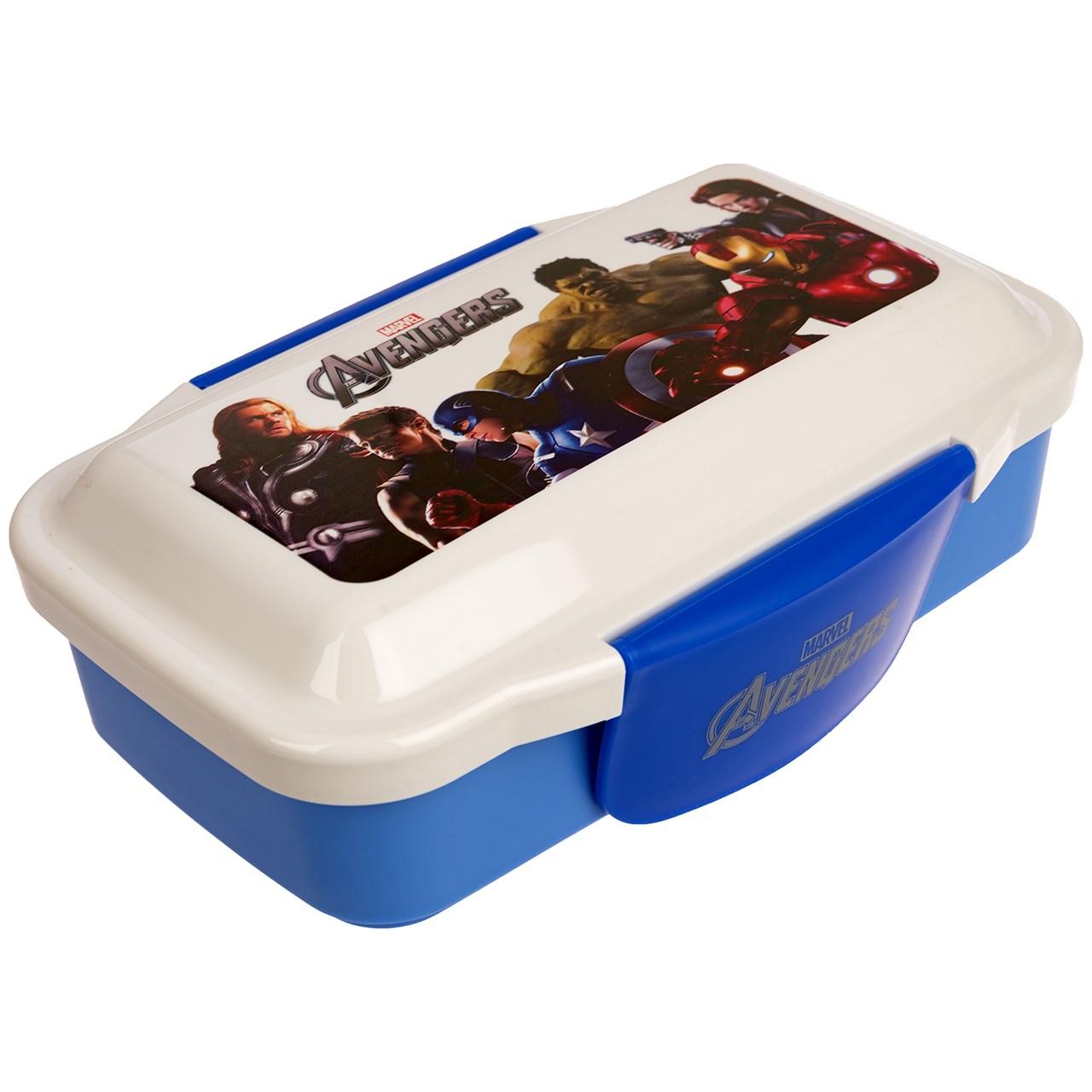 ظرف غذای کودک مدل Avengers XY 6328