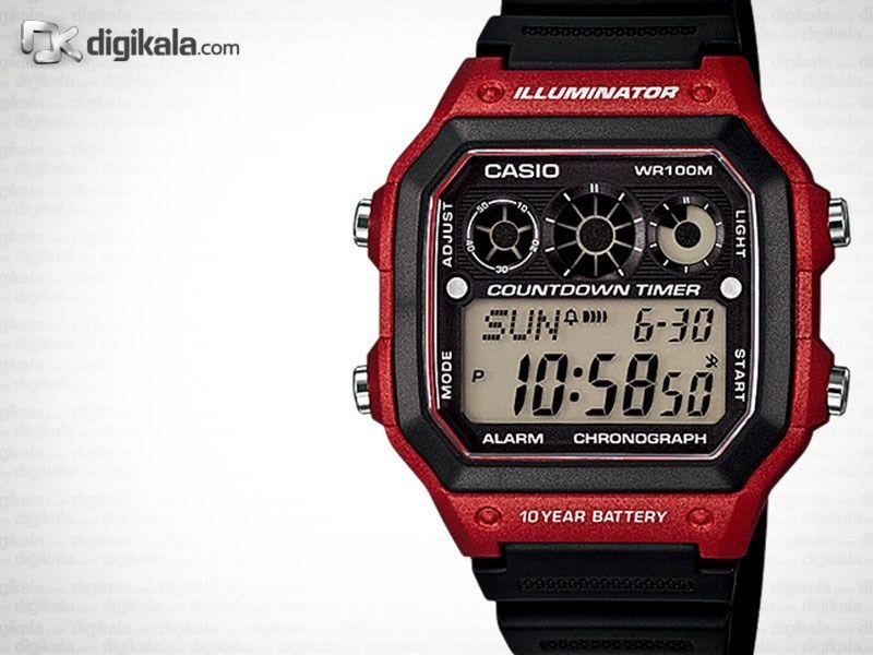 ساعت مچی دیجیتالی کاسیو AE-1300WH-4AVDF -  - 2