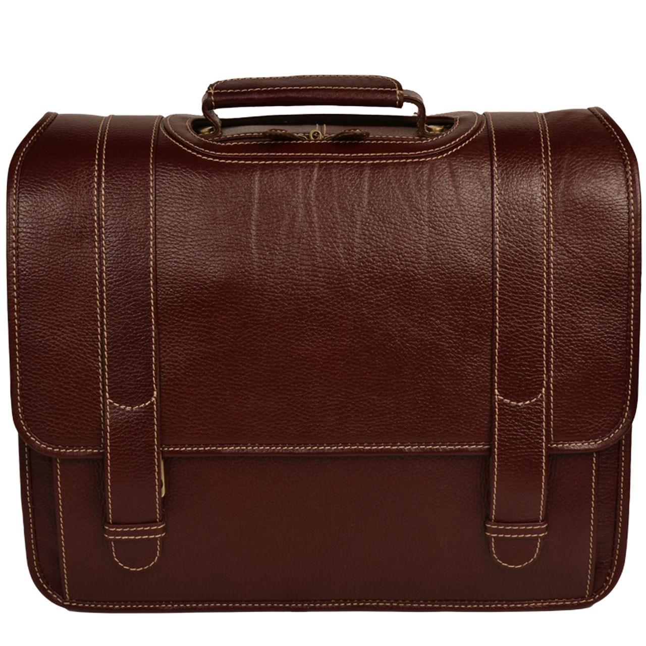 کیف اداری چرم طبیعی کهن چرم مدل LT1-12
