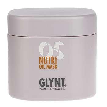 ماسک تغذیه کننده مو گلینت مدل Nutri Oil 05 حجم 200 میلی لیتر
