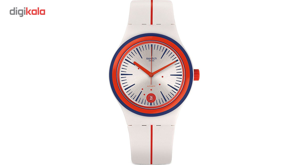 ساعت مچی عقربه ای مردانه سواچ مدل SUTW402