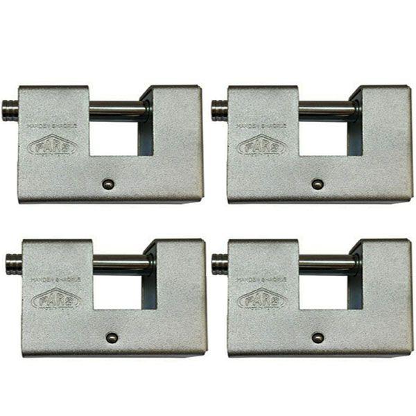 قفل کتابی پارس مدل SP900 بسته 4 عددی