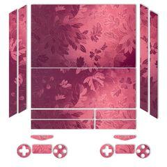 برچسب ماهوت مدلRed Wild-flower Texture مناسب برای کنسول بازی PS4