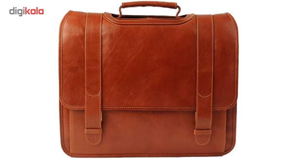 کیف اداری چرم طبیعی کهن چرم مدل 1-LT1