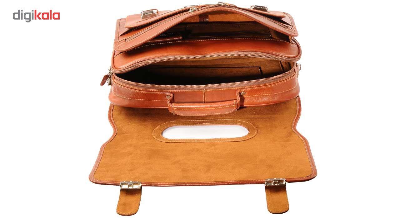 کیف اداری چرم طبیعی کهن چرم مدل 1-LT1 main 1 2