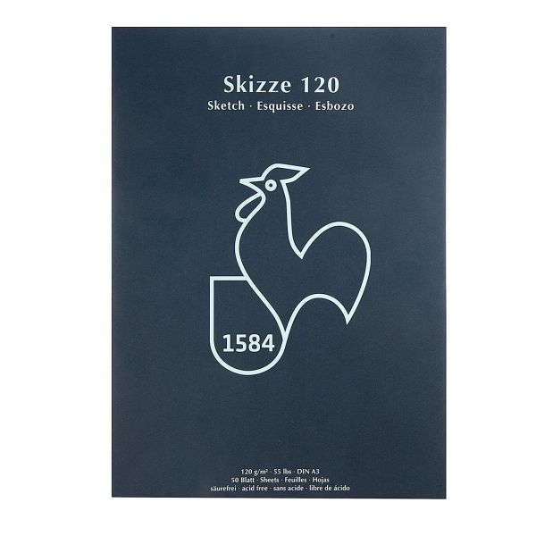 دفتر طراحی هانه موله مدل Skizze 120