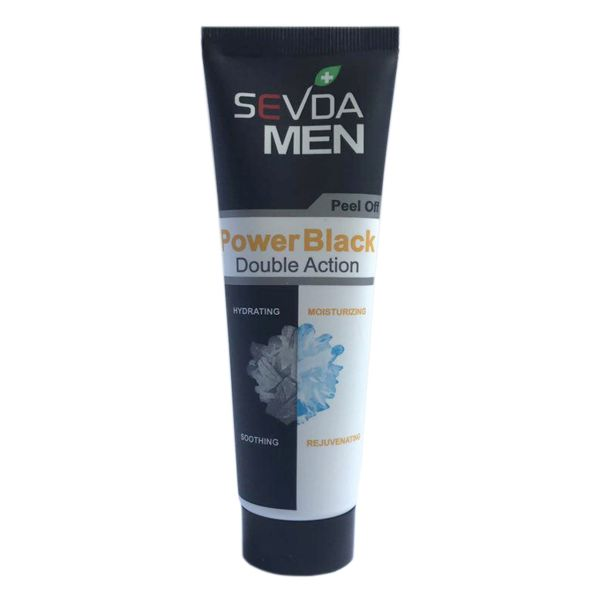 ماسک صورت Sevda مدل Power Black حجم 100 میلی لیتر