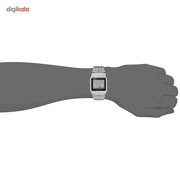 ساعت مچی دیجیتال مردانه کاسیو مدل A500WA-1DF