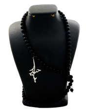 گردنبند نقره زنانه دلی جم طرح  یا حیدر  کد D 96 -  - 2