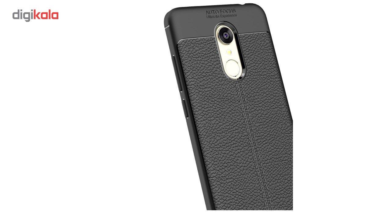 کاور ژله ای طرح چرم مناسب برای گوشی موبایل شیائومی Mi Note 5 main 1 2