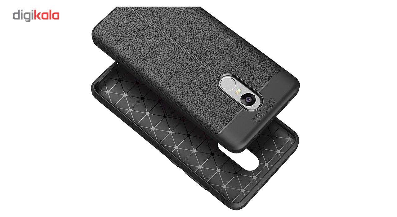 کاور ژله ای طرح چرم مناسب برای گوشی موبایل شیائومی Mi Note 5 main 1 3