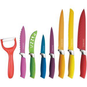 ست 8 پارچه چاقوی آشپزخانه رویال تی لاین مدل RL COL7W