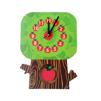 ساعت دیواری جیک جیک مدل درخت سیب
