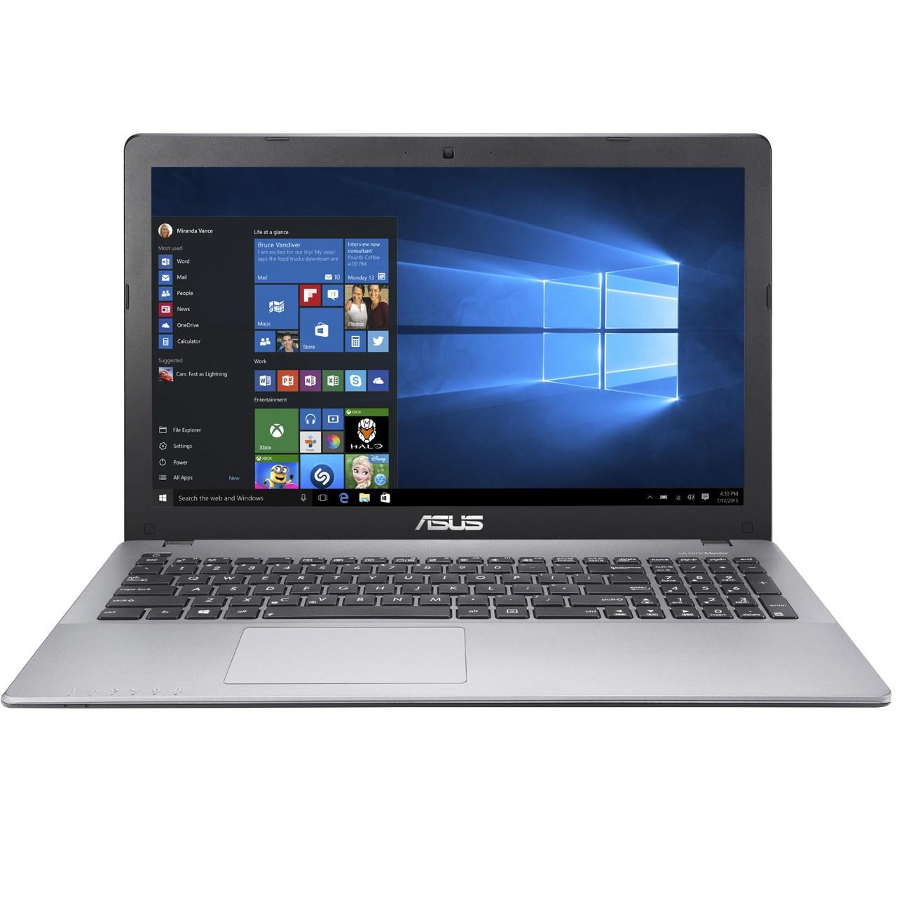 لپ تاپ 15 اینچی ایسوس مدل X550VQ - E