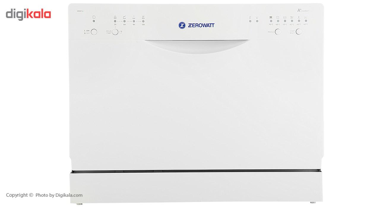 ماشین ظرفشویی رومیزی زیرووات مدل ZDCF6
