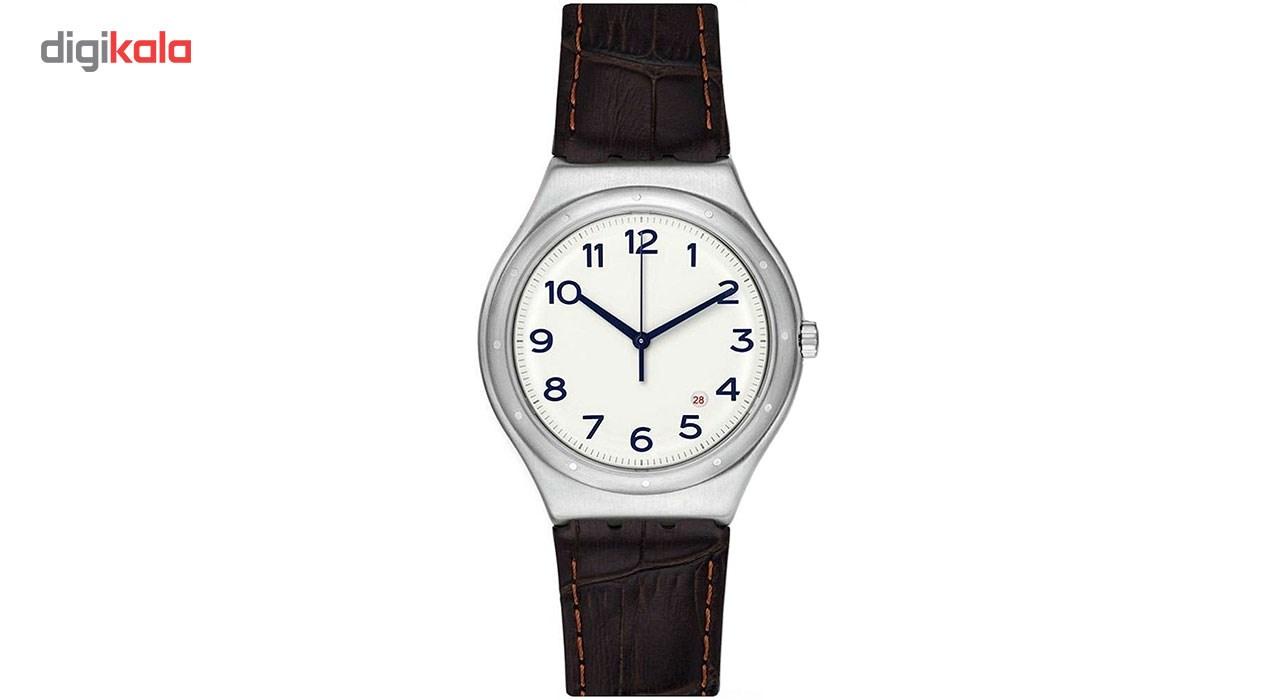 خرید ساعت مچی عقربه ای مردانه سواچ مدل YWS416