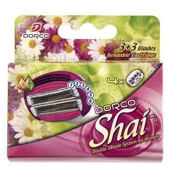 تیغ یدک 4 عددی دورکو مدل Shai 6