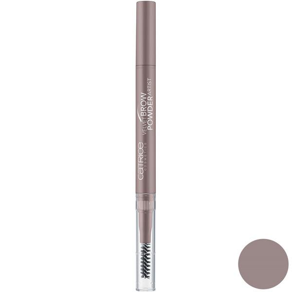 قلم پودری ابرو کاتریس سری Velvet Brow شماره 010
