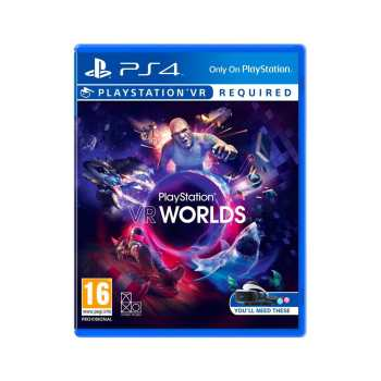 بازی VR WORLDS مخصوص PS4