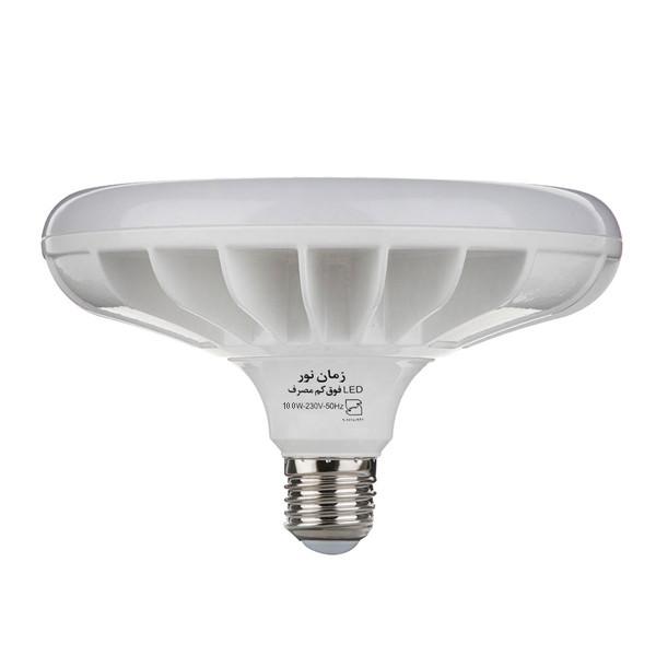 لامپ ال ای دی 100 وات زمان نور مدل سفینه پایه E27