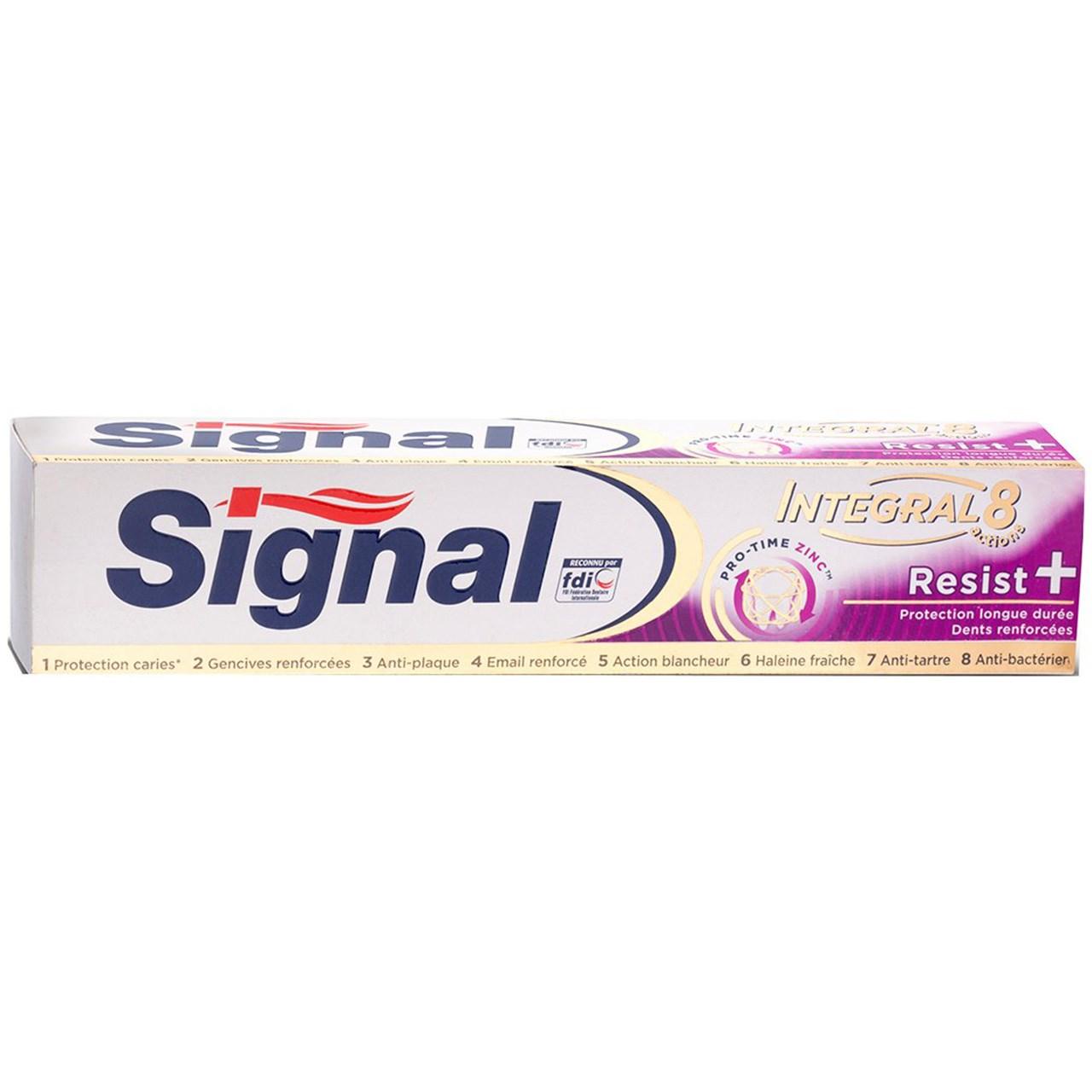 قیمت خمیر دندان سیگنال مدل Resist حجم 75 میلی لیتر