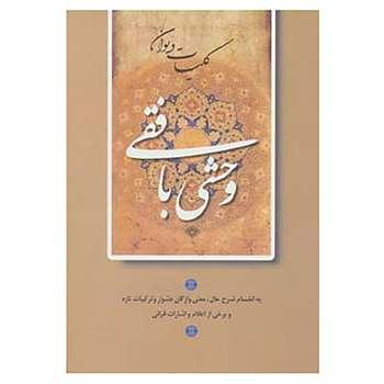 کتاب کلیات دیوان وحشی بافقی اثر کمال الدین وحشی بافقی