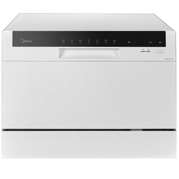 ماشین ظرفشویی رومیزی مایدیا مدل WQP6-3602F | Midea WQP6-3602F Countertop Dishwasher