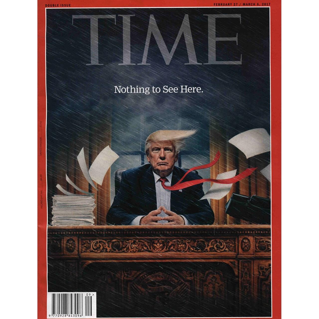 مجله تایم - بیست و هفتم فوریه 2017