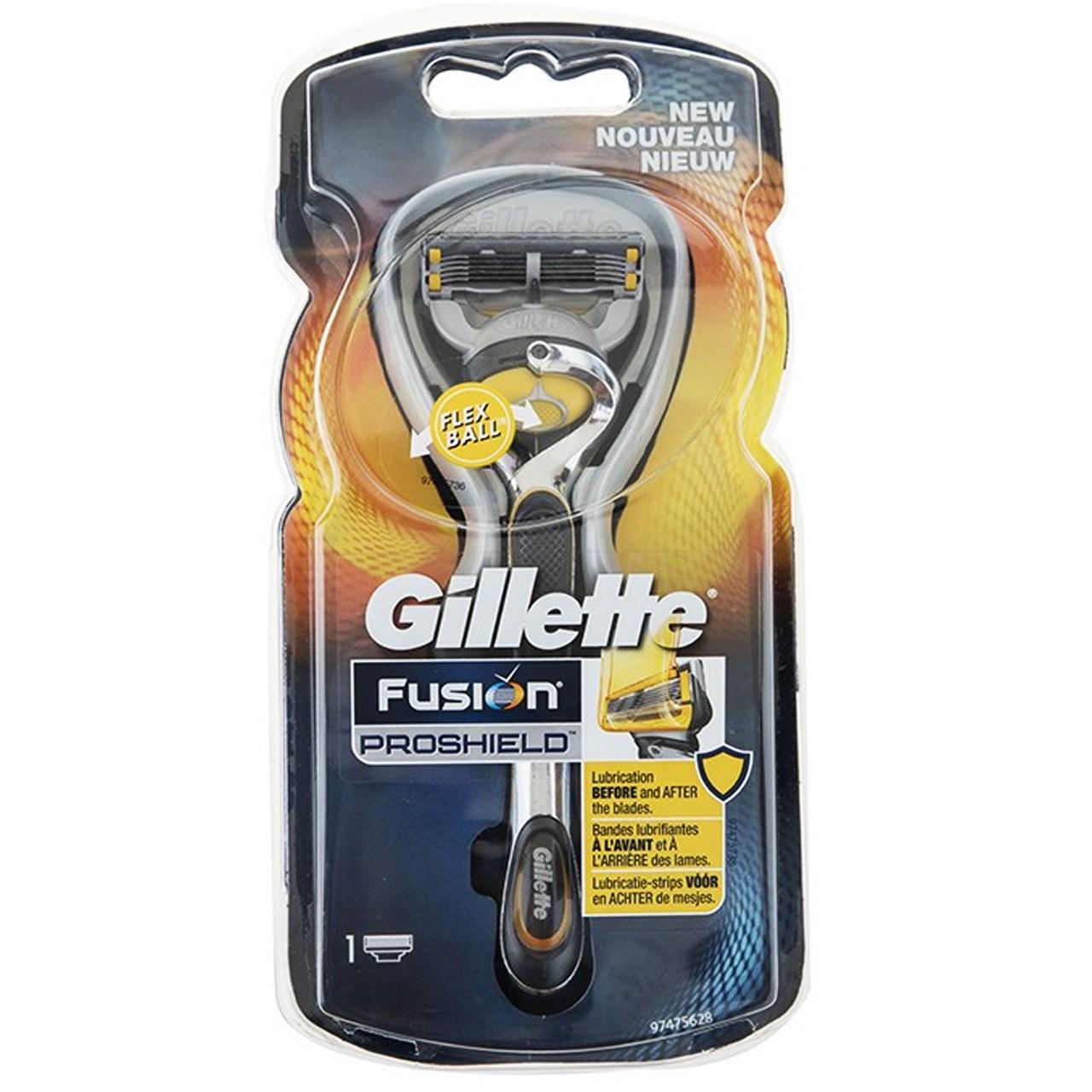 قیمت خود تراش ژیلت مدل Fusion Proshield